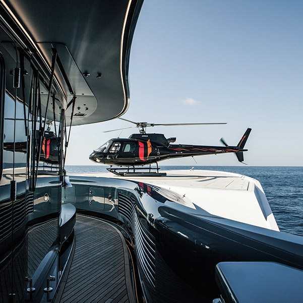 Superyachts and the (very) high life
