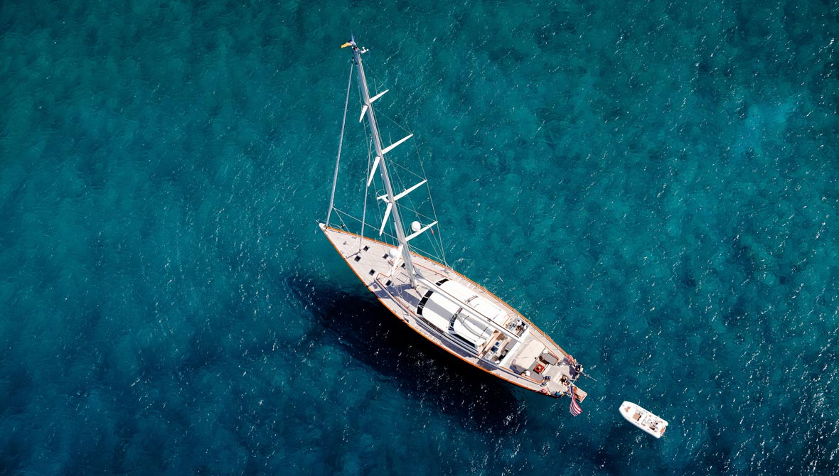 A sailing yacht fit for a family