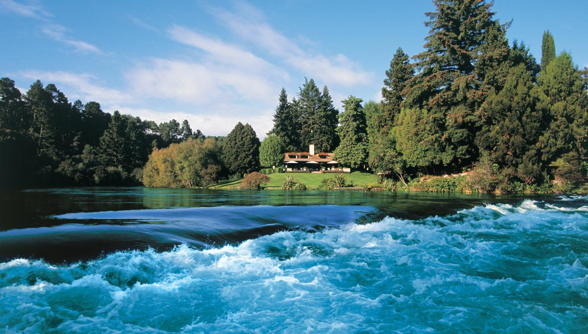 From yacht to luxury lodge in New Zealand