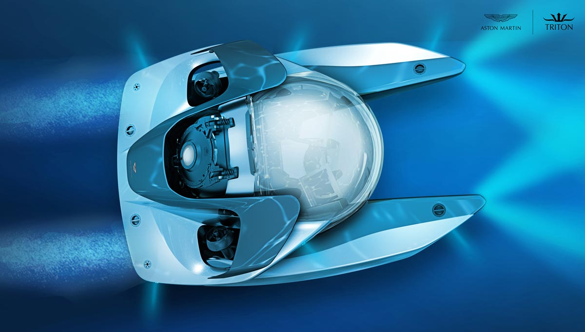 Underwater luxury: A new breed of submarine