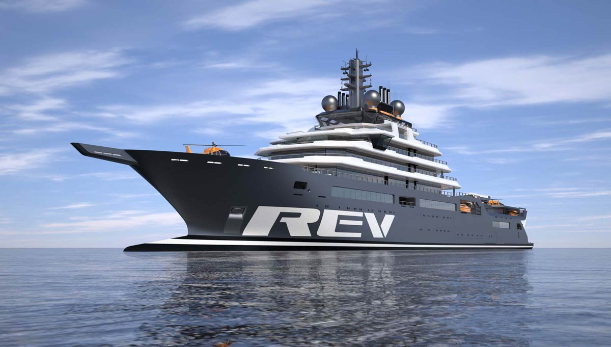 Designing a superyacht destined for scientific discovery