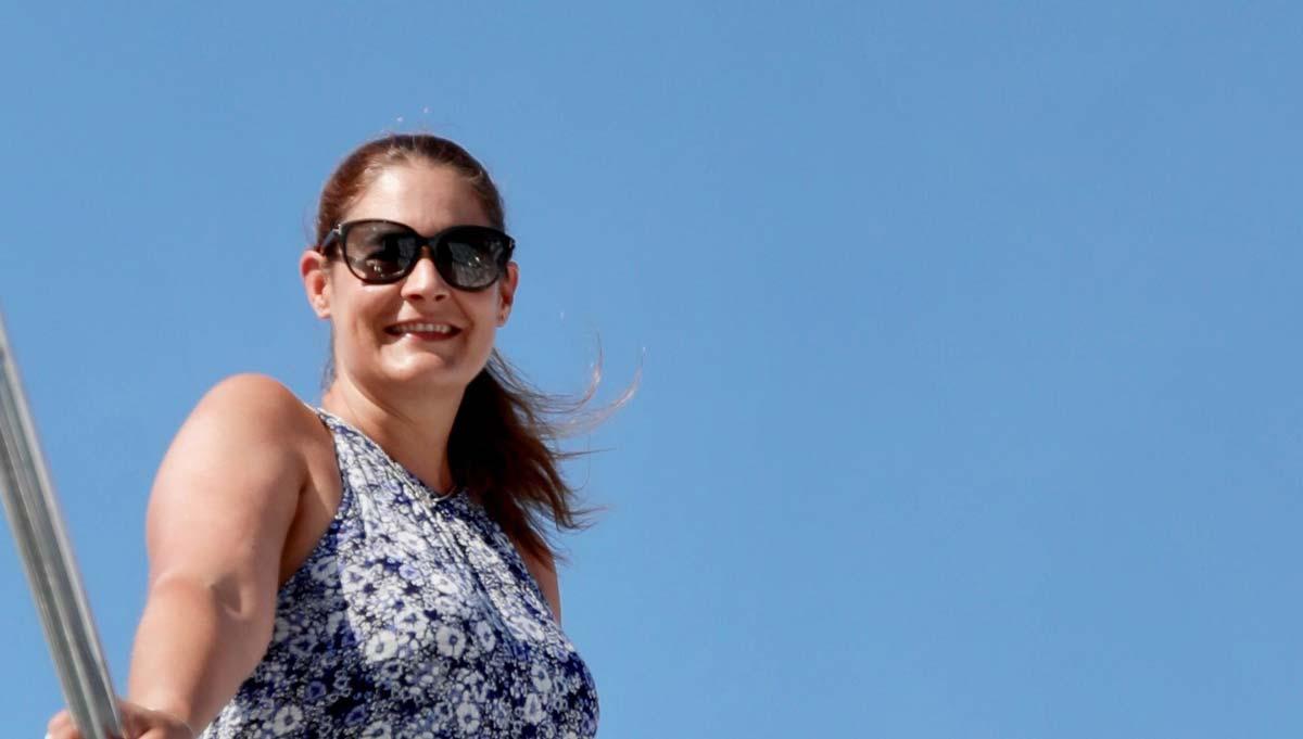 #humansofyachting – Gaëlle Tallarida