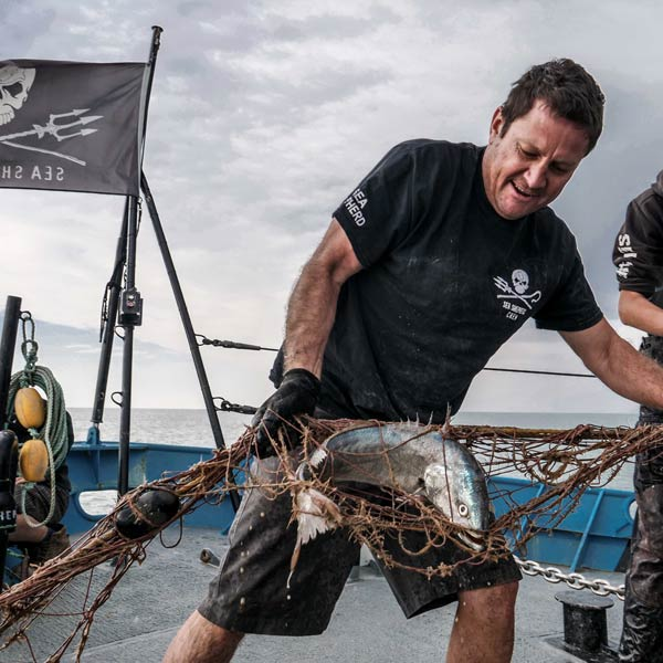 From superyacht captain to sea shepherd