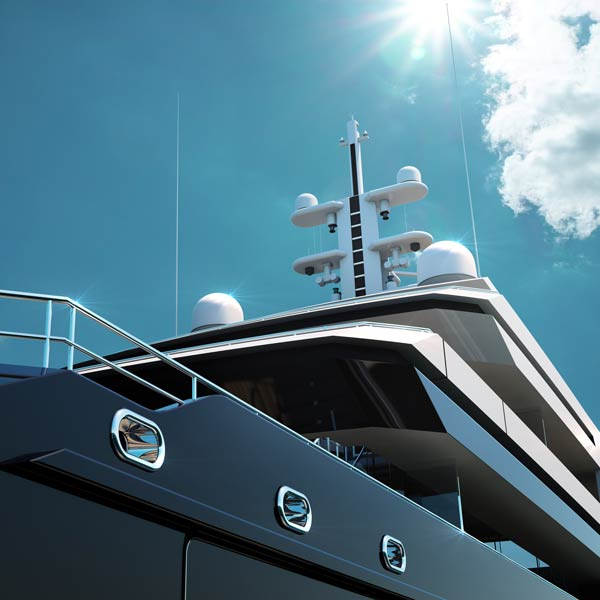 A superyacht with sustainable intentions