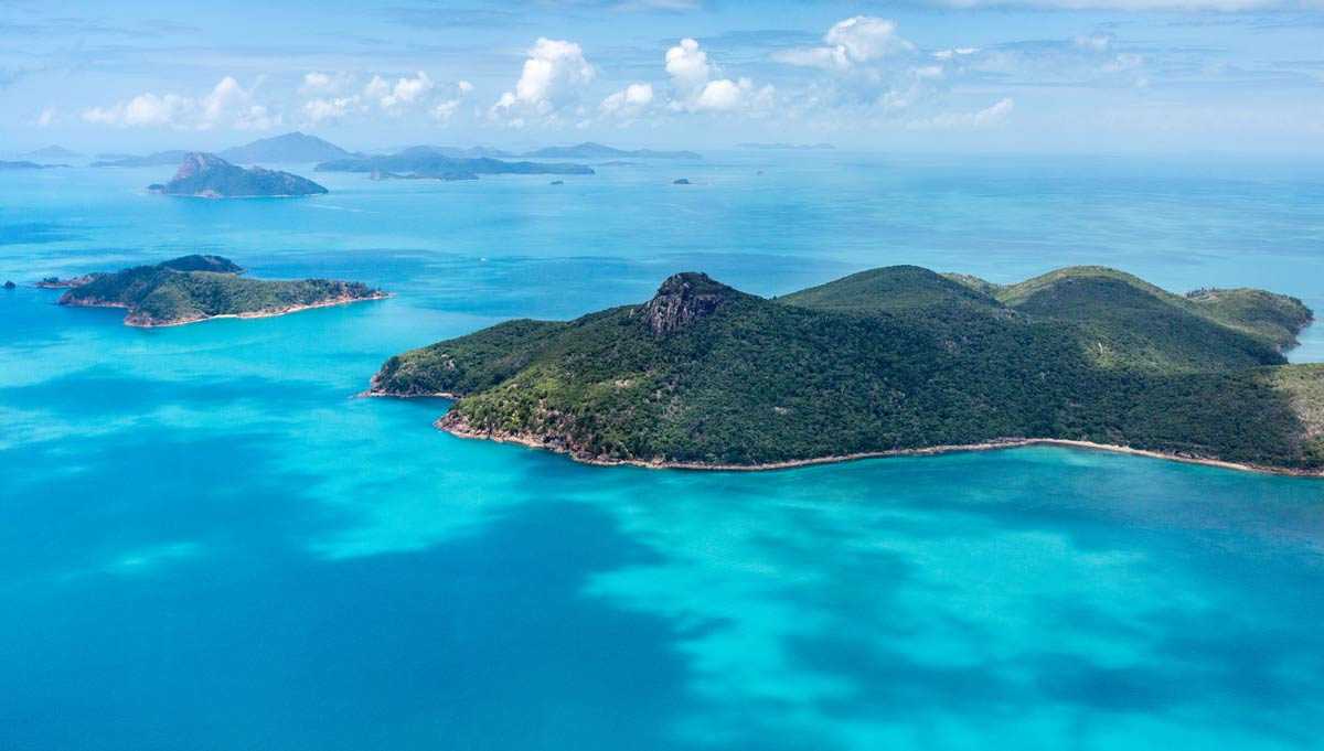 High-flying views and Great Barrier Reef dives in Australia's Whitsunday Islands