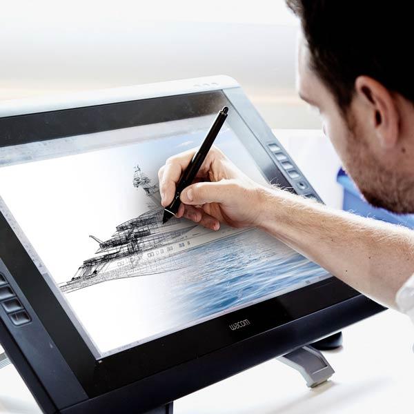 Behind the scenes of a superyacht design studio