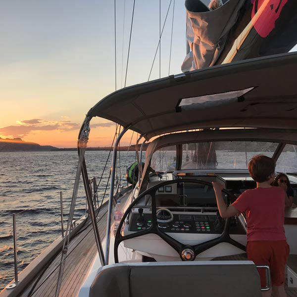 Savouring the journey on a sailing yacht