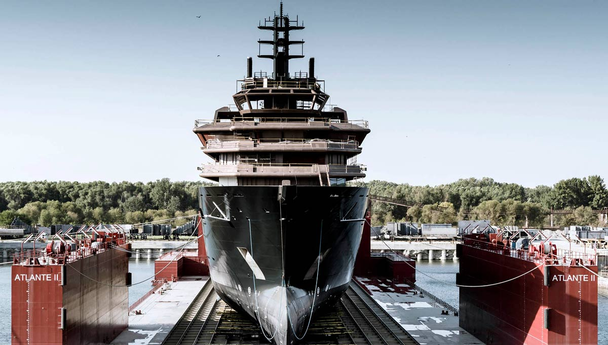 A superyacht with power and purpose