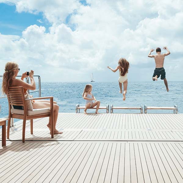 Yachting: it's a family affair