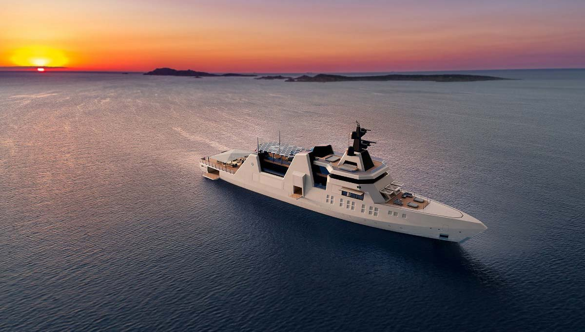 The world of superyacht concepts