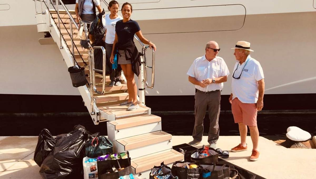 Giving back to the Balearics