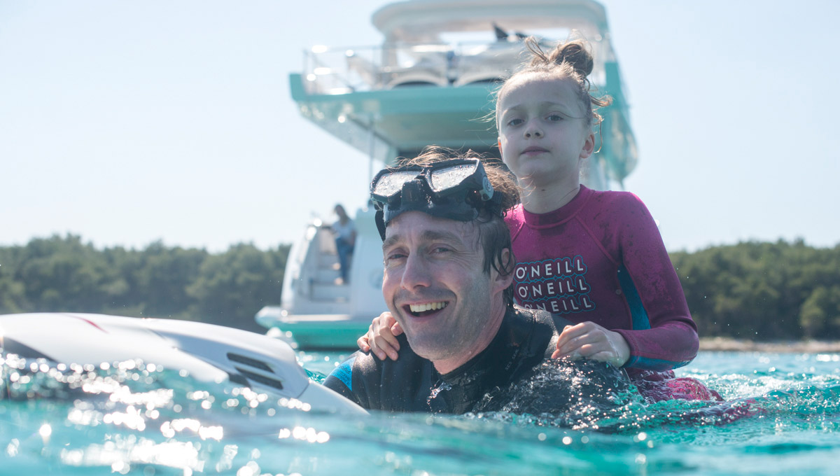 Top five... highlights of a family charter