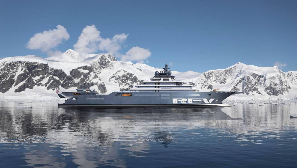 REV Ocean – much more than an expedition yacht