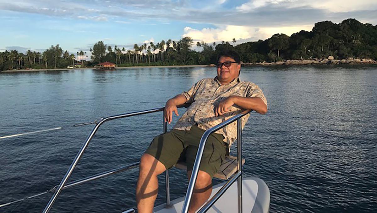 Family adventures in a catamaran