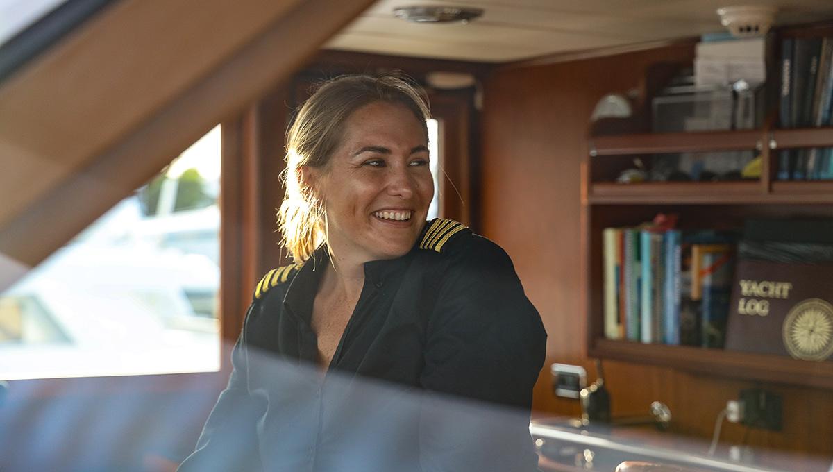 #humansofyachting – Sally-Ann Konigkramer