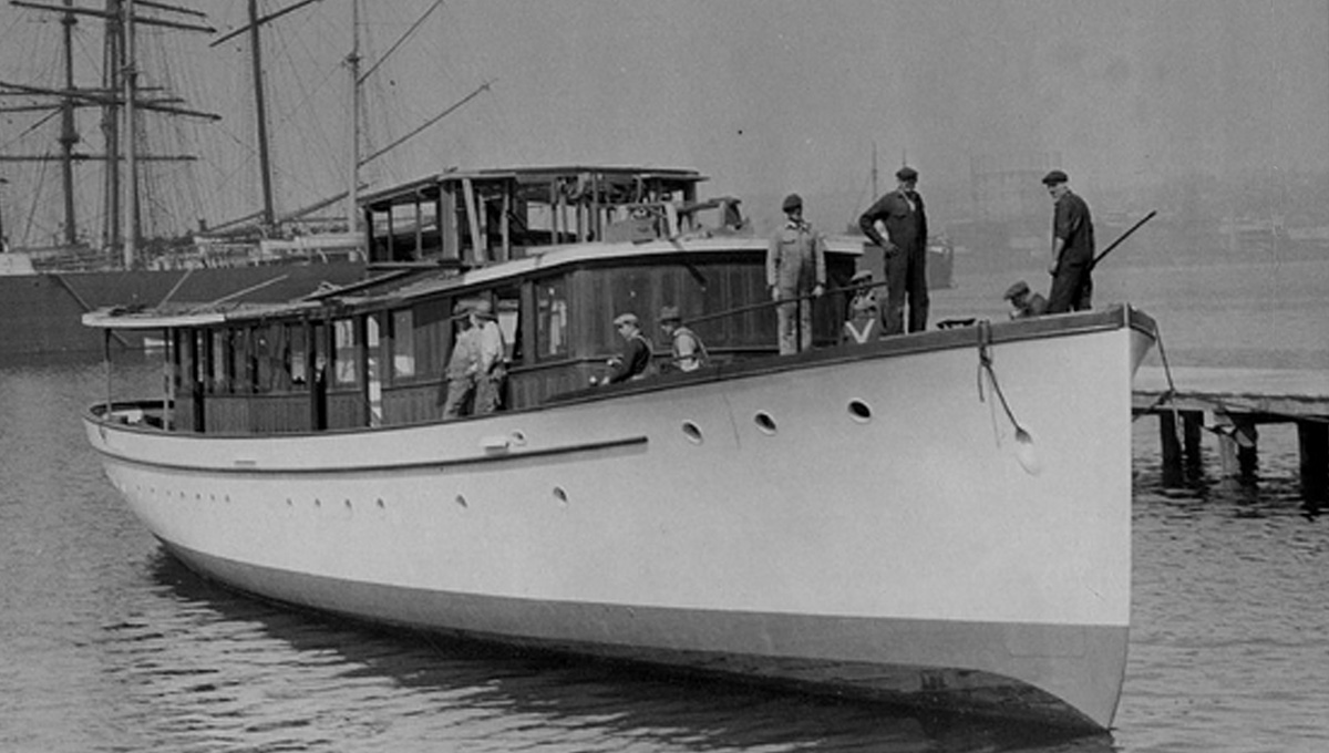 Sailing on board the ultimate nautical antique