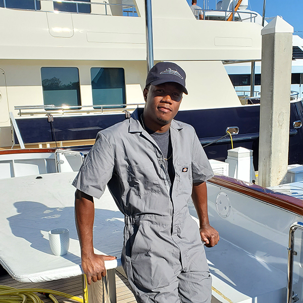 #humansofyachting – Richardo Anderson