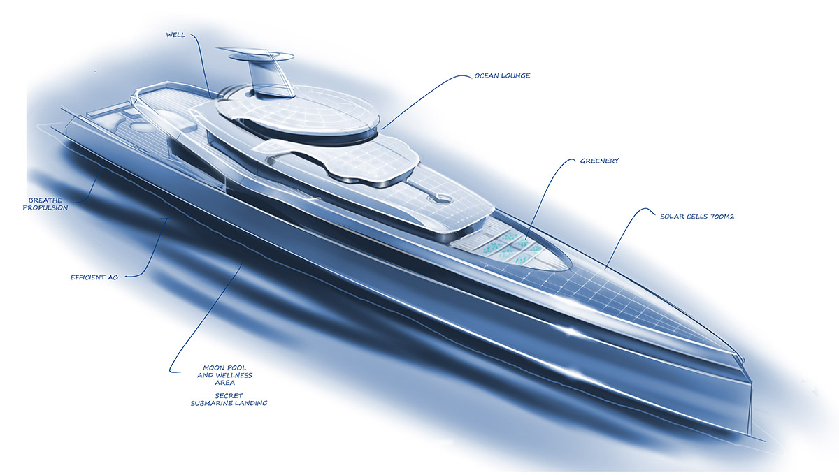 Designing yachts for health-conscious clients