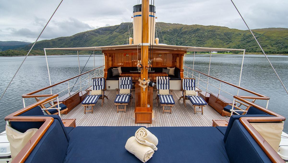 Cruising Scotland's craggy coastline