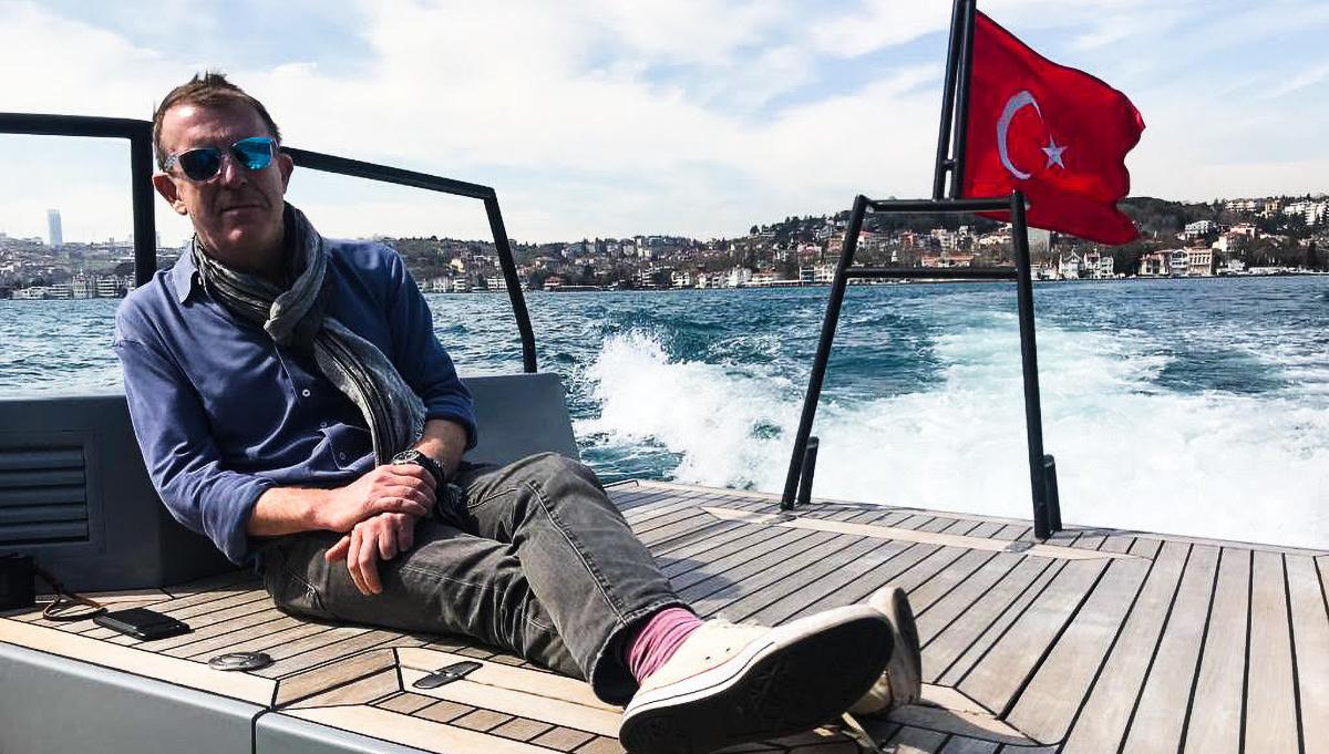 #humansofyachting – Dickie Bannenburg