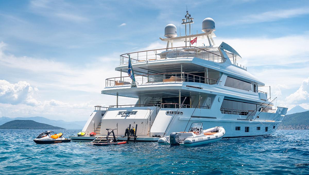 Sunrise: the homegrown yacht