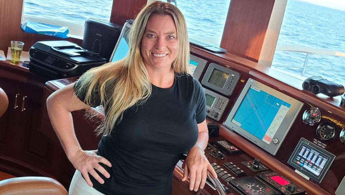 #humansofyachting - Kelly Gordon