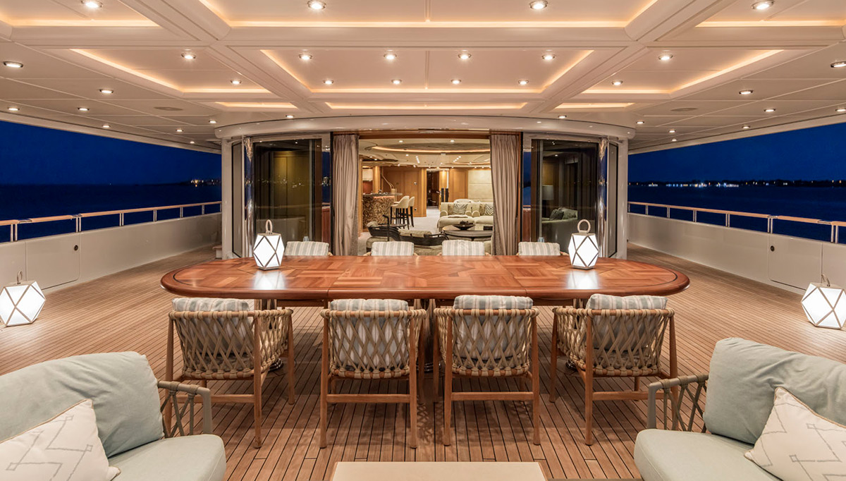 Designing a yacht for three generations