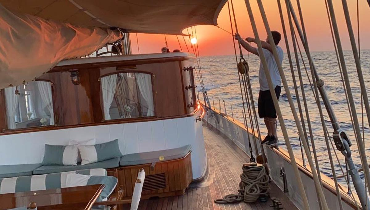 A classic yacht built for timeless adventure